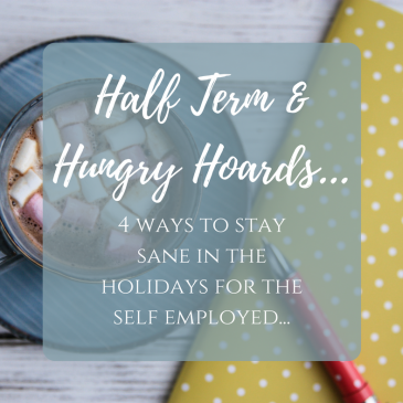 Half Term & Hungry Hoards