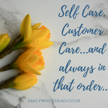 An Action Plan For Self Care in Small Business