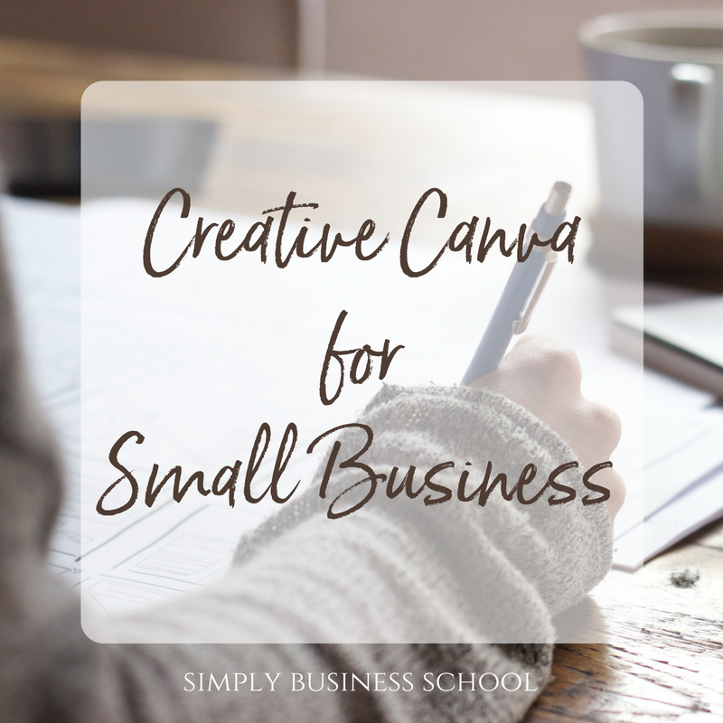 Creative Canva for Small Business - a workshop for beginners.