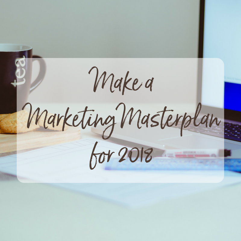 make a marketing masterplan