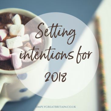 Setting Intentions for 2018
