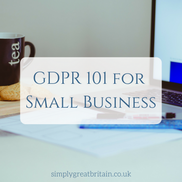 GDPR 101 for Small Business